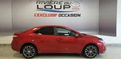 Toyota Corolla S GARANTIE 2022 OU 120 000KM  2015