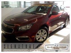 Chevrolet Cruze 2LT,TOIT,CAMERA,AC,CRUISE**26,000KM**  2015