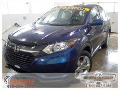 Honda HR-V LX,AC,CRUISE,MAGS,DEMARREUR.  2016