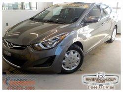Hyundai Elantra GL,SIEGES CHAUFFANT,AC,CRUISE.  2014