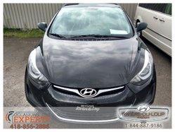 Hyundai Elantra GL,AC,CRUISE,SIEGE CHAUFFANT  2014