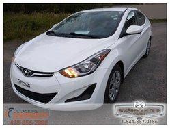 Hyundai Elantra GL,AC,CRUISE,SIEGES CHAUFFANT.  2014