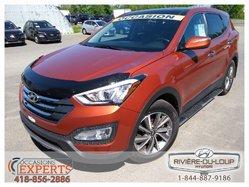 Hyundai Santa Fe SE,AWD,CUIR,TOIT,MAGS,MARCHE PIEDS.  2013