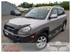 2005 Hyundai Tucson AWD,V6,2.7L,TRES PROPRE,AUCUN ACCIDENT.