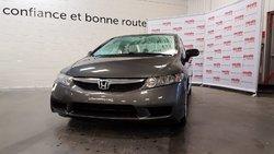 Honda Civic Sdn * DX-A * AIR CLIMATISÉE * PORTES ÉLECTRIQUES *  2010
