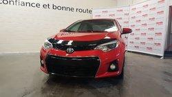 Toyota Corolla * S * TOIT OUVRANT * BLUETOOTH * CAM DE RECUL *  2014
