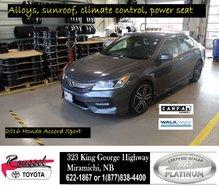 2016 Honda Accord Sedan Sport w/Honda Sensing