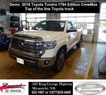2018 Toyota Tundra Platinum 1794