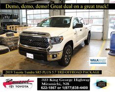 2019 Toyota Tundra SR5 PLUS 5.7 TRD OFFROAD PACKAGE