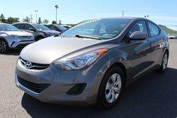 Hyundai Elantra L MANUELLE 6 VITESSES GROUPE ELECTRIQUE  2013