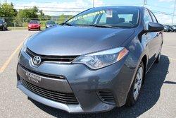 Toyota Corolla CE MANUELLE 6 VITESSES AIR CLIMATISÉ BLUETOOTH  2015