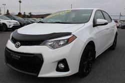Toyota Corolla S AMÉLIORER 50ieme ANNIVERSAIRE MAGS TOIT CUIR SIÈGES CHAUFFANTS CAMERA RECUL  2015