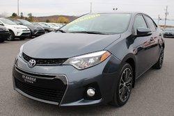 Toyota Corolla S AMÉLIORÉ TECHNOLOGIE TOIT MAGS CUIR GPS  2015