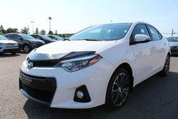 Toyota Corolla S AMÉLIORÉ MAGS TOIT CUIR SIÈGES CHAUFFANTS  2015