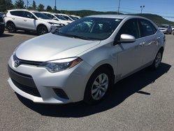 Toyota Corolla LE BLUETOOTH CAMÉRA RECUL SIÈGES CHAUFFANTS  2015