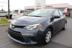 Toyota Corolla CE MANUELLE 6 VITESSES BLUETOOTH  2015