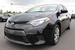 Toyota Corolla LE BLUETOOTH SIÈGES CHAUFFANTS CAMERA RECUL*PROMO*  2016