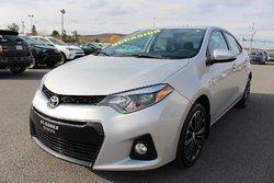 Toyota Corolla S AMÉLIORE CUIR MAGS TOIT SIÈGES CHAUFFANTS CAMERA RECUL  2016