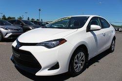 Toyota Corolla LE SIEGES CHAUFFANTS CAMERA RECUL TOYOTA SAFETY SENSE  2017