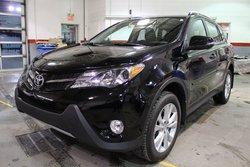 Toyota RAV4 LIMITED AWD CUIR TOIT GPS  BLUETOOTH  2015