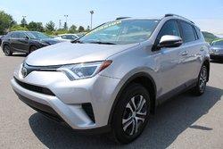Toyota RAV4 LE AWD SIEGES CHAUFFANTS CAMERA RECUL TOYOTA SAFETY SENSE  2017