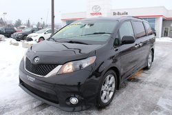 Toyota Sienna SE 8 PASSAGERS MAGS TOIT CUIR BLUETOOTH CAMERA RECUL  2014