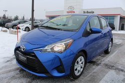 Toyota Yaris Hatchback LE BLUETOOTH SIEGES CHAUFFANTS CAMERA RECUL  2018