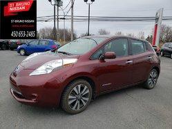 Nissan Leaf SV, CERTIFIÉ JAMAIS ACCIDENTÉ  2017