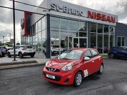 Nissan Micra SV, vehicule d'occasion certifié,  2016