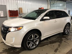 Ford Edge SPORT AWD CUIR NAVI TOIT PANORAMIQUE MAGS 22PO  2014