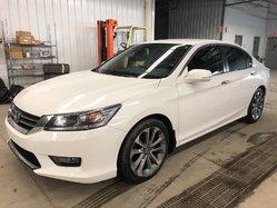2014 Honda Accord Sedan Sport MANUELLE + GARANTIE COMPLETE 7 ANS / 130 000