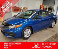 Honda Civic Coupe LX  2014