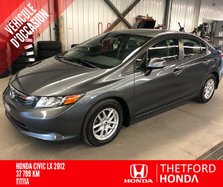 Honda Civic Sdn LX TRÈS BAS KILO ** ROUES MAGS**  2012