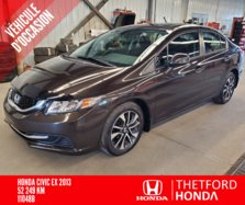 Honda Civic Sdn EX TOIT OUVRANT TRES BAS KILOMETRAGE !!  2013