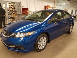 Honda Civic Sedan DX BAS KILOMETRAGE GARANTIE PROLONGEE COMPLETE  2014