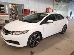 Honda Civic Sedan SI 4 PNEUS NEUFS NAVIGATION  MAGS 18PO  2015