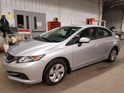 Honda Civic Sedan LX BAS KILOMETRAGE TRÈS PROPRE !!  2015