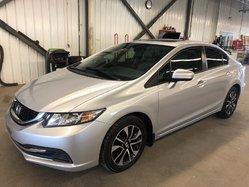 Honda Civic Sedan EX TOIT OUVRANT PNEUS NEUFS !  2015