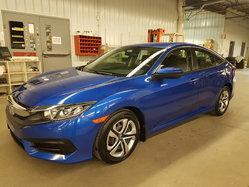 Honda Civic Sedan LX BAS KILO GARANTIE PROLONGÉE  2016