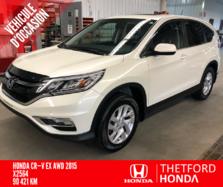 Honda CR-V EX 4WD TOIT OUVRANT DÉMARREUR HITCH  2015