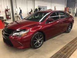 Toyota Camry XSE NAVI SIÈGES CUIR/SUÈDE BAS KILOMETRAGE !!  2015