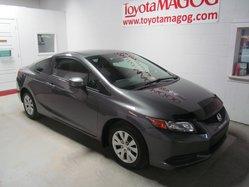 2012 Honda Civic Cpe LX (53$/SEM)