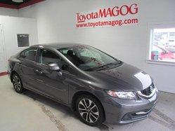 Honda Civic Sdn ***EX, TOIT, MAGS, A/C, BLUETOOTH  2013