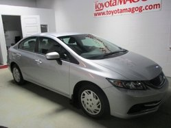 Honda Civic Sedan ***LX, AUTOMATIQUE, A/C  2014