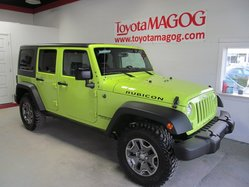 Jeep Wrangler Unlimited Rubicon (984 KM) 2 TOITS,CUIR,GPS  2016