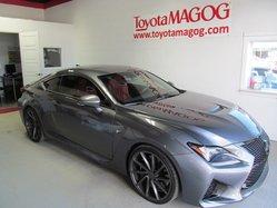 2015 Lexus RC F AVEC 8000$ DE SURPLUS