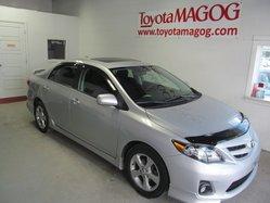 Toyota Corolla S (toit ouvrant) full garantie jan 2018  2013