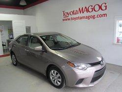 Toyota Corolla LE (SEULEMENT 33849 KM)  2014