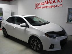 Toyota Corolla ***S, BLUETOOTH, GARANTIE JUSQU EN 2020,  2015