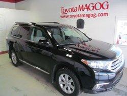 Toyota Highlander SIEGE CHAUFFANT  2013